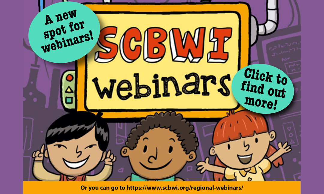 SCBWI offers webinars across all regions in the US and abroad [caption id=