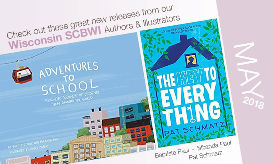 Congratulations to the beautiful books launched in May!