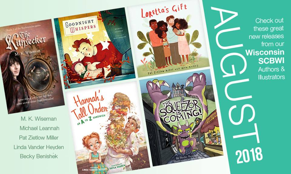 Congratulations to the beautiful books launched in August!