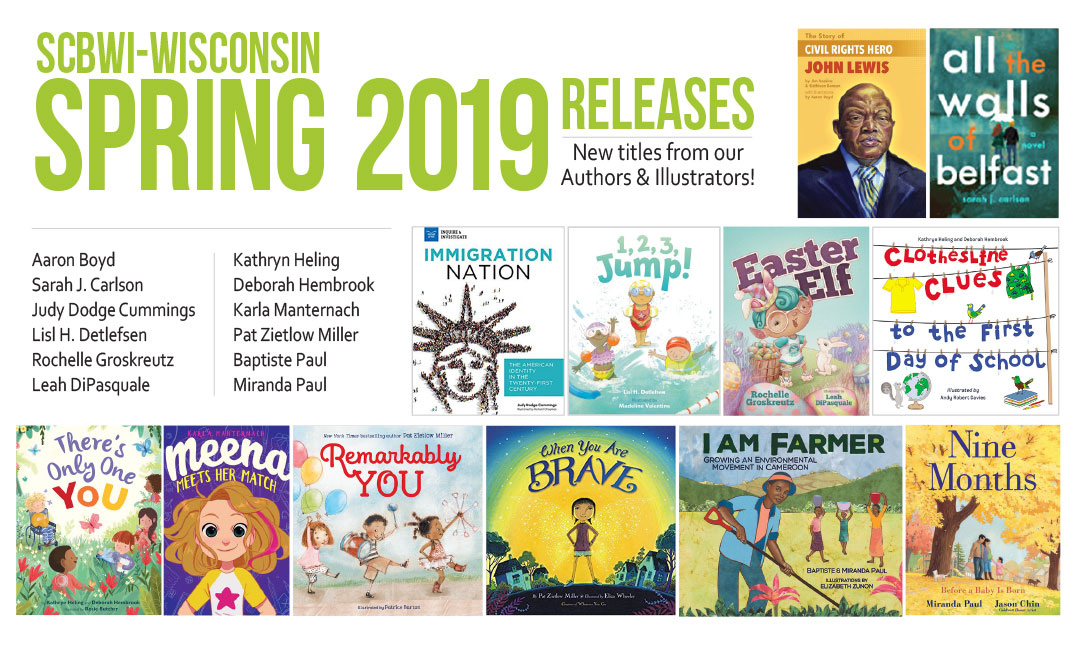 Congrats to all the authors and illustrators who are releasing these beautiful books in 2019! Click image for downloadable PDF. Please feel free to share widely!