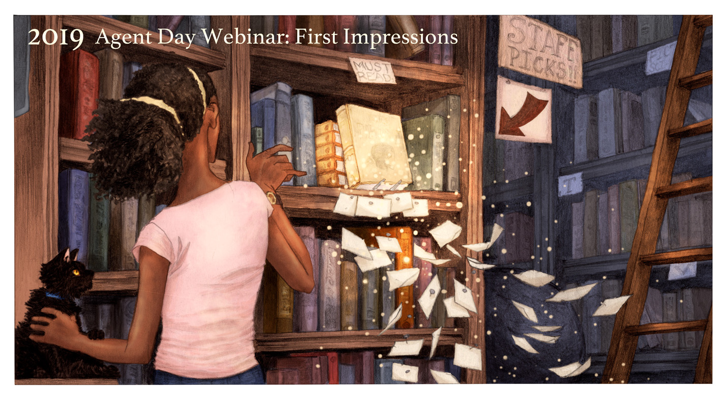 WI-SCBWI Winter Webinar Agent Day Event: First Impressions JANUARY 20, 2019 - 1: 00 - 4 :30 p.m.  https://wisconsin.scbwi.org/events/winter-webinar-agent-day-event-first-impressions/