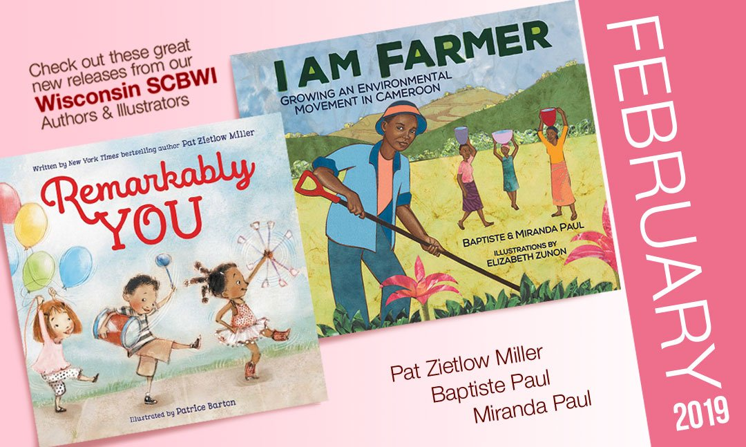 Congratulations to the beautiful books launched in February!