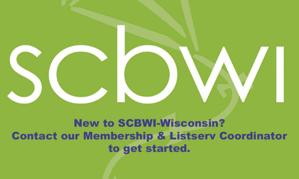 New to SCBWI-Wisconsin