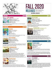 Fall 2020 SCBWI-WI member book releases