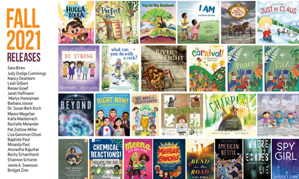 Congrats to the SCBWI-Wisconsin authors and illustrators who are releasing these beautiful books in fall 2021! Click HERE for a downloadable and highly shareable PDF. Or see the JPEG image below on your device. Enjoy.